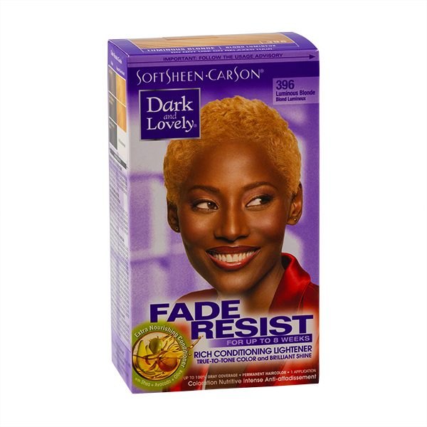 Dark & Lovely 396 Luminous Blonde